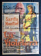 SARITA MONTIEL La Violetera MEXICAN MOVIE POSTER 1958