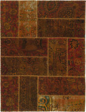 Patchwork Teppich Rug Carpet Tapis Tapijt Tappeto Alfombra Orient Perser Vintage