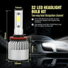 LED H8 H9 H11 Car Headlight Kit COB 16000LM White High Power 6000K