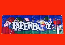 LARGE Paperboy Arcade Video Game Banner Flag Poster FREE SHIPPING