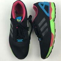 Adidas B34490 Men Torsion ZX Flux Shoes Core Black Running Shoes sz 9.5