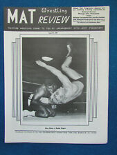 MAT Wrestling Review - 17/2/69 - Issue 580 - Dory Dixon & Buddy Rogers Cover