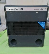 Subwoofer Montarbo 115SA Made in Italy (500 Watt in classe AB) Usato