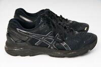Asics Gel Kayano 23 Mens Running Runner Shoes (D) (9099) Size US 8 Black Onyx