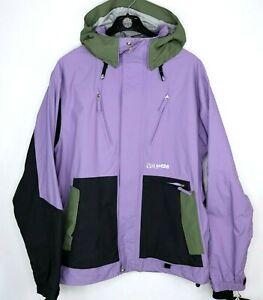 Volcom Clintons Mens Size L Snowboard Jacket Purple