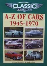 LIVRE/BOOK : VOITURE CLASSIQUE ET SPORTIVE ANNEES 40 50 60 (1945 - 1970