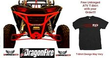 RED RacePace Rear Smash Bumper for RZR XP 1000 & Free Unhinged ATV T-Shirt