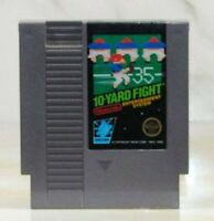 Vintage Nintendo Game 10-Yard Fight 1983 NES Football Game Guaranteed to Work