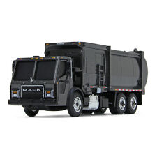 2019 FIRST GEAR 1:87 *GREY* MACK LR McNeilus ZR SIDE LOADER GARBAGE TRASH TRUCK
