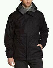 O'NEILL - Mens Black PM District Snow Ski Jacket 8K Waterproof Coat Small BNWT