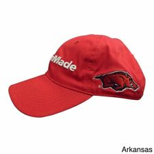detailed look a0f9f affa3 TaylorMade NCAA Golf Hat Arkansas Razorbacks Closeout