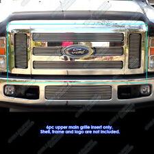 Fits 08-10 Ford F-250/F-350 Super Duty Main Upper Billet Grille Insert