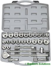 "Draper 16256 3/4"" Square Drive Ratchet Socket Set Metric Imperial AF 26 Piece"