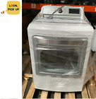 LG - DLGX7801WE 7.3 Cu. Ft. Smart Gas Dryer with Steam and Sensor Dry - White photo
