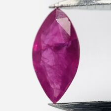 Genuine Red Ruby Navette 0.30ct 0 1/4x0 1/8in
