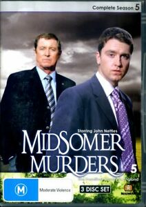 Midsomer Murders - Complete Season 5 - DVD - Region 0