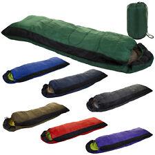 OUTDOOR CAMPING HIKING SLEEPING BAGS WARM  FISHING SLEEPOVER SUIT ENVELOPE CASE
