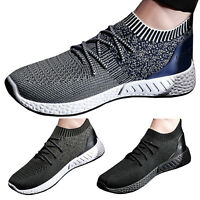Men Casual Mesh Breathable Comfy Shoes Sports Sneakers Trainers Slip On Size 10