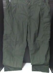 5.11 Tactical Men's 42x30 Taclite® Pro Ripstop Cargo Pants~Relaxed Fit~Green