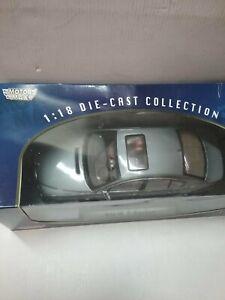 Motormax 1/18 BMW 7 Series - Grey Metallic, DIE-CAST COLLECTION