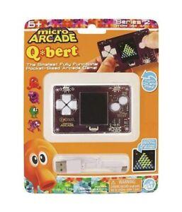Micro Arcade Q*bert Series 2 Hand Held Game Brand New