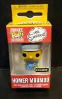 Hot Topic Exclusive The Simpsons Homer Muumuu Funko Pocket Pop Keychain Figure