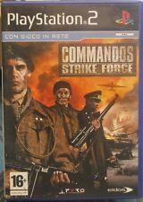 GIOCO PS2 PLAYSTATIO 2 - COMMANDOS STRIKE FORCE USATO FUNZIONANTE