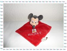 G - Doudou Plat Rouge Mickey Disney Nicotoy