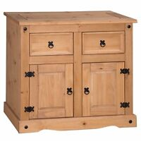 Corona 2 Door 2 Drawer Sideboard Solid Mexican Pine by Mercers Furniture®