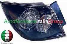 FANALE GRUPPO OTTICO POSTERIORE SX S/PORTAL EST CRYSTAL LED MAZDA 3 5P 2003>2009