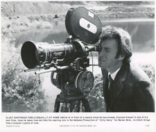 Clint Eastwood w Camera on Location Filming Dirty Harry Original Photograph 1971