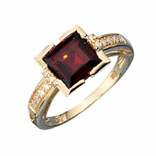 Natürliche Diamant Echtschmuck mit 54 (17,2 mm Ø)