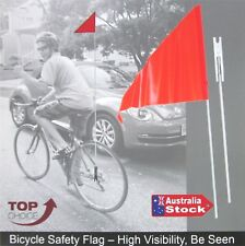 Bicycle Safety Flag 1.6m in 2 Lengths Uni Axle Fitting Mobility Scooter Bike