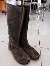 Martin Margiela TABI long Boots Suede Split Toe 38 39 RARE