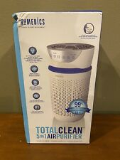 Homedics TotalClean 5-in-1 Tower Hepa Air Purifier in White