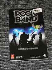 """Rock Band"" Multi-Platform/Official Game Guide/Brand New  Ships in a Sturdy Box!"