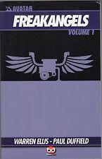 volume WARREN ELLIS FREAKANGELS EDIZIONI BD VOLUME 1