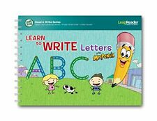 LeapFrog LeapReader Deluxe Writing Workbook: Learn to Write Letters