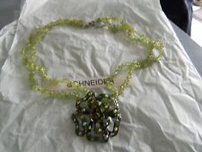 Premier Designs SAGE BLOSSOM crystal necklace gorgeous RV $71 FREE ship