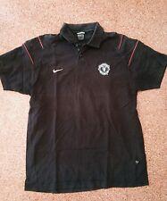 camisetas jersey shirt maillot POLO NIKE MANCHESTER UNITED ENGLAND USED  XL