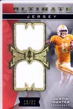 justin hunter rc rookie draft dual jersey patch tennessee vols college #/50 2013