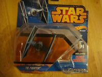 Hot Wheels Star Wars Starship Blue TIE Fighter Vehicle-New-Free Shipping