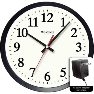 Westclox Wall Clock 32189A  - 1 Each