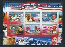 GUINEA 2008 MINI SHEET IMPERF MiNr: 5831 - 36 ** STEVE FOSSETT AVIATION RACING