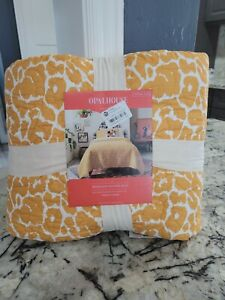 Opal House Medallion Sticked Quilt Twin XL Cotton NWT GREAT ANIMAL PRINT