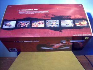 1/18 HOT WHEELS J2995 FERRARI 248F1 2006 CHINA GP LAST WIN MICHAEL SCHUMACHER
