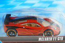 HOT WHEELS 2013 SPEED MACHINES - McLAREN F1 GTR - DARK ORANGE