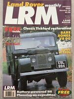 Land Rover Monthly Magazine - January 2000 - Tickford Restoration, Bare Bones V8