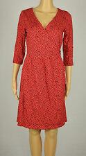 Tommy Hilfiger mujer rojos burdeo estampado vestido S