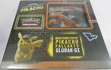 **NEU** Pokemon 45105 Meisterdetektiv Pikachu - Fallakte Glurak GX Pin Box *OVP*